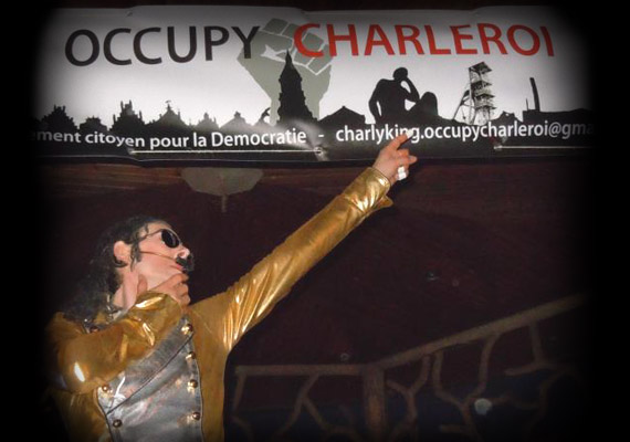 occupy Charleroi